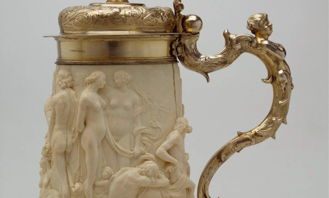 Tankard with Mythological Figures, 1670