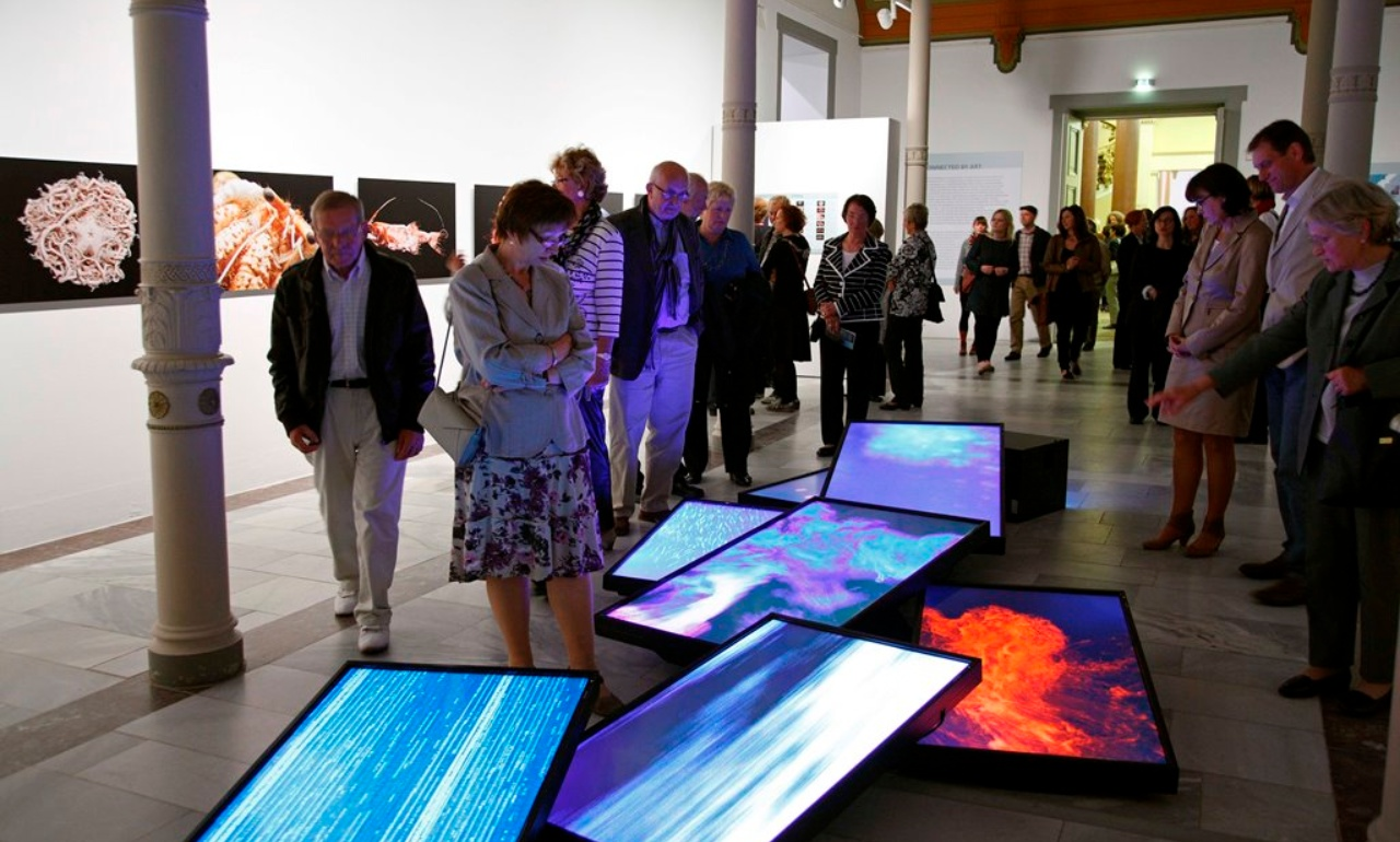 "Opening of the exhibition ""Connected by Art"", 2012"