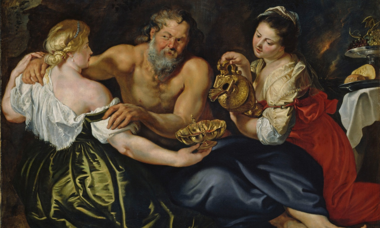 Peter Paul Rubens, <i>Lot and his Daughters</i>, around 1610