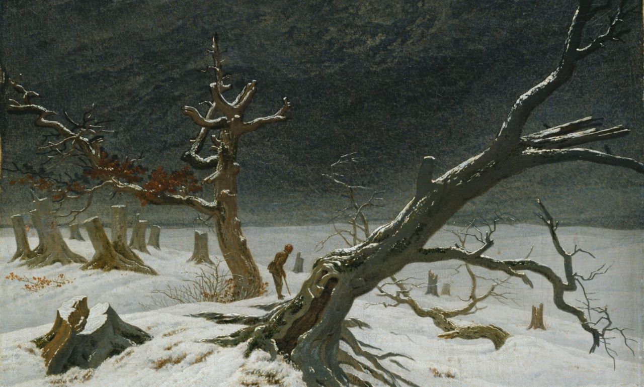 Caspar David Friedrich, <i>Winterlandschaft</i>, 1811